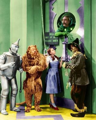 The Wizard Of Oz Judy Garland Ray Bolger Bert Lahr Jack Haley 8x10 Photo (WO-6)