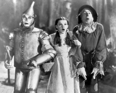 The Wizard Of Oz Judy Garland Ray Bolger Jack Haley 8x10 Photo (WO-7)