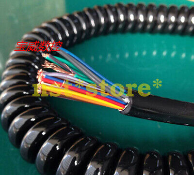 New 25-core handwheel spring cable CNC machine tool electronic handwheel line