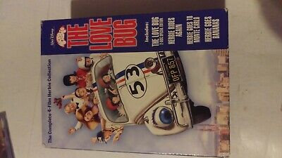 The Love Bug~The Complete 4-Film Herbie Collection~Disney Vg/C  5 Disc Dvd Set