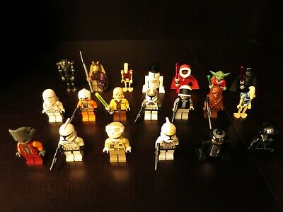 X15 Lot Custom Blasters Blaster Weapon PACK for Star Wars Lego Minifigures #26