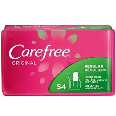 Carefree Original Regular Regular PANTILINERS UNSCENTED 54+54=108