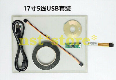 17 inch 5-line touch screen resistive touch handwriting screen set