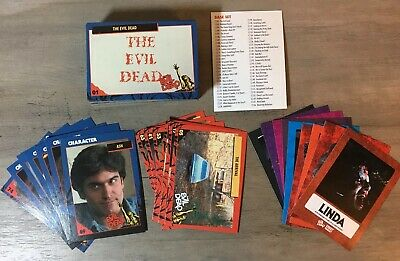 Evil Dead Trading Card Set With Stickers Fright-Rags Horror