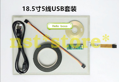 19 inch 5-wire touch screen USB interface line resistive touch screen Touch set