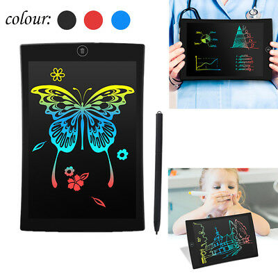9.5'' Color LCD Writing Pad Digital Drawing Tablet Electronic Graphic Board AU