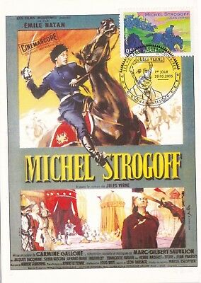 Carte Maximum - Premier Jour - Michel Strogoff - 2005