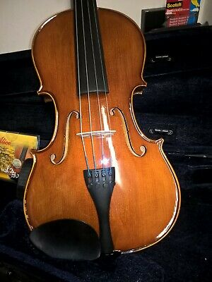 """Student 16"""" Viola Entry Level Glossy finished with uprated strings Alice 904"""
