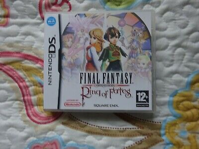 Game Nintendo DS Final Fantasy Crystal chronicles Rings of fates