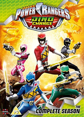 Power Rangers Dino Charge The Complete S (UK IMPORT) DVD [REGION 2] NEW