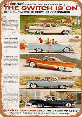 Metal Sign 1957 Dodge Vintage Look Reproduction