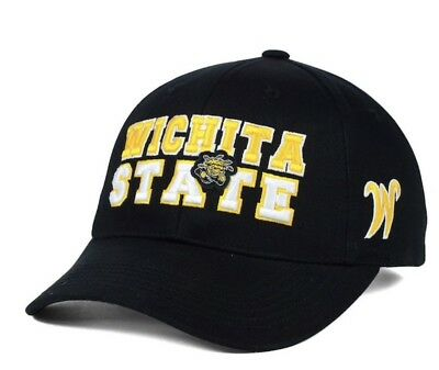 New Wichita State Shockers Top of The World NCAA Teamwork Hat Cap Adjustable 645537068f0b