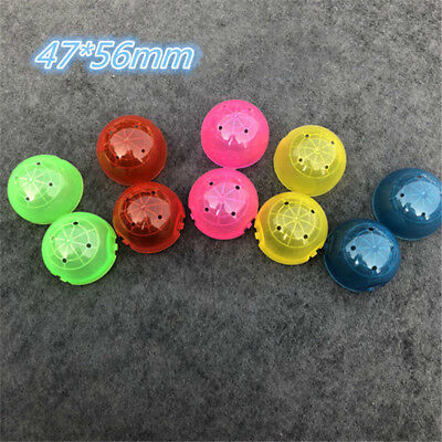100 Packs of Conjoined Empty Round Capsule for Toy Vending Machine 47 56 MM