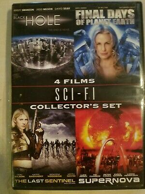 Sci-Fi Collectors Set DVD 2-Disc Set: The Hole, Final Days, Supernova Ships FAST