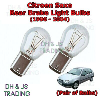 2x Peugeot 207 Genuine Osram Original Tail Light Bulbs