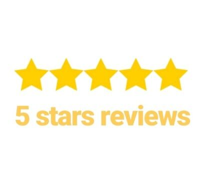 5 Star review for your Business for your choice. Real people