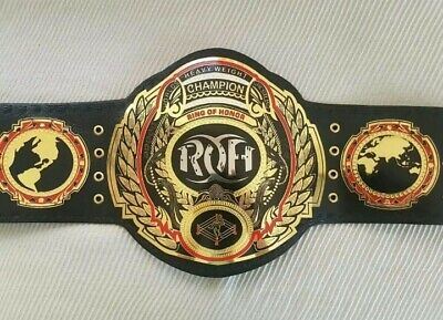 ROH Ring Of Hour World Heavyweight Championship Wrestling Belt Replica Adult 2mm