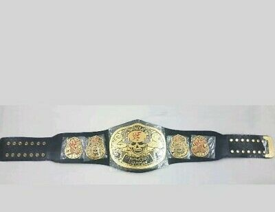 Smoking Skull World Heavyweight Wrestling Championship Belt Replica Adult 2mm