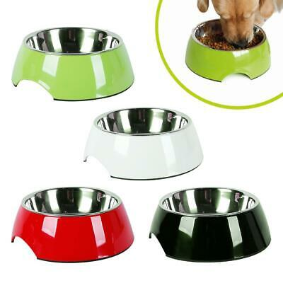 AllPetSolutions Non Slip Stainless Steel Dog Cat Puppy Pet Food Water Bowl Dish