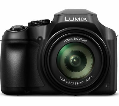 PANASONIC Lumix DC-FZ82EB-K Bridge Camera - Black - Currys
