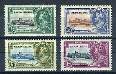Cayman Islands 1935 KGV. Silver Jubilee set of 4. MH. SG 108-111.