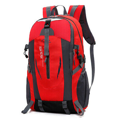 1pc Camping Hiking Travel Backpack Daypack Rucksack Zipper School Shoulder Bag