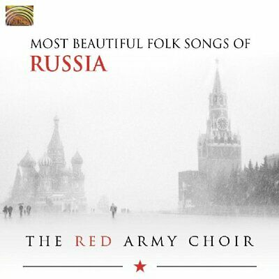 The Red Army Choir - Most Beautiful Folk Songs Of Russia CD Arc Music NEW