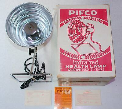 Vintage Pifco Infra Red Health Lamp Made in Australia