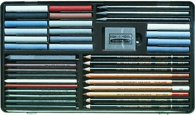 Koh i Noor Gioconda graphite charcoal pencil pastel sketching toning set 8891