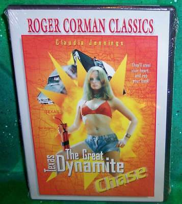 New Rare Oop Roger Corman Claudia Jennings Great Texas Dynamite Chase Dvd 1976