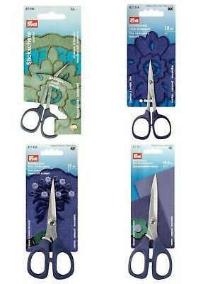 "Prym Kai Professional Embroidery Scissors Snips Sizes 4"" 5"", 6.5"" & Curved Style"