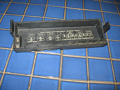 91 92 93 94 95 jeep cherokee wrangler 4 or 6 cylinder fuse box block cover