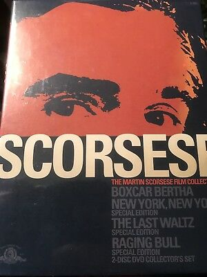 Martin Scorsese Film Collection (DVD, 2004, 4-Disc Set) Brand New Factory Sealed