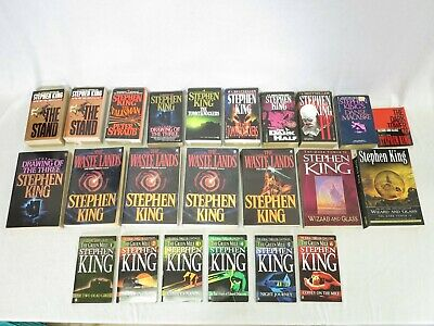 Collection (23) Stephen King Books, The Dark Tower Series, The Tommyknockers