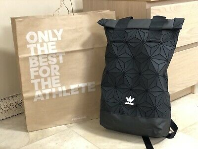 892c0317f0ef AdIdas Originals DH0100 3D Roll Up Backpack Bag Issey Miyake Asia Exclusive  Rare