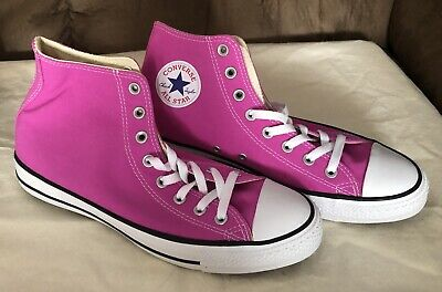 NEW MENS 9 Converse Chuck Taylor CT OX Pink Paper Shoes $60