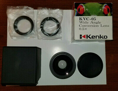 KENKO KVC-05II 0.5X Wide Angle Conversion Lens in Original Box