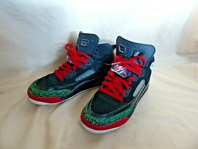 Nike Air Jordan Spizike BG Youth Boys Black Sneakers   Athletic Shoes -  Size 5.5 9649acdce