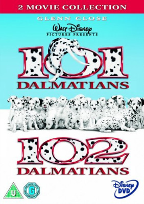 Glenn Close, Jeff Daniels-101 Dalmatians/102 Dalm (UK IMPORT) DVD [REGION 2] NEW