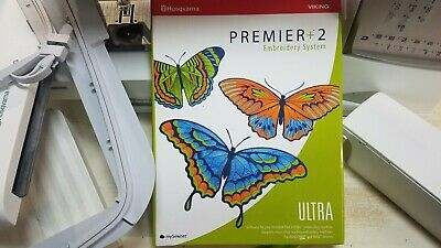 PREMIER+2 ULTRA EMBROIDERY Software for Husqvarna Viking