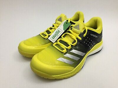 premium selection d87c1 df7e3 New Womens Adidas Crazyflight X Boost Volleyball Shoes Size 7 Yellow BA9267