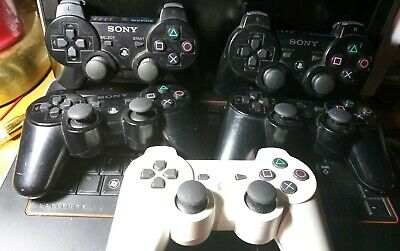 Official OEM Sony Playstation 3 PS3 DualShock 3 Controller - Lot of 5