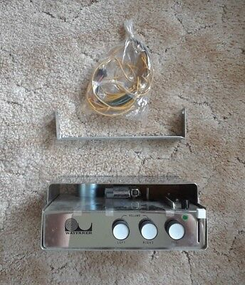 NOS Vintage Taiko Automobile 4-Track Player and Speaker System