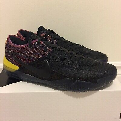 check out b9ae2 c767a Nike Kobe AD NXT 360 Black Multi-Color Basketball Shoes sz. 11 DS New