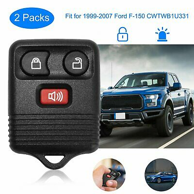 2PACK  FOR 1999-2007 FORD F-150 CWTWB1U331 Keyless Entry Key Car Remote FOB
