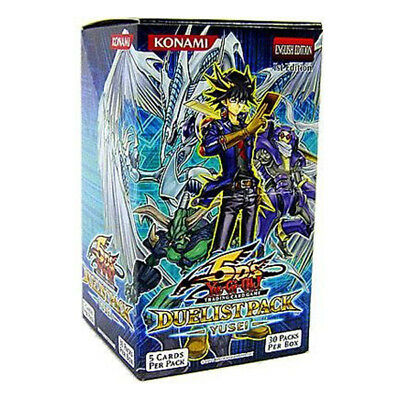 Yugioh English 5D's Duelist Pack Yusei Booster Box 1st Edition Factory Sealed!