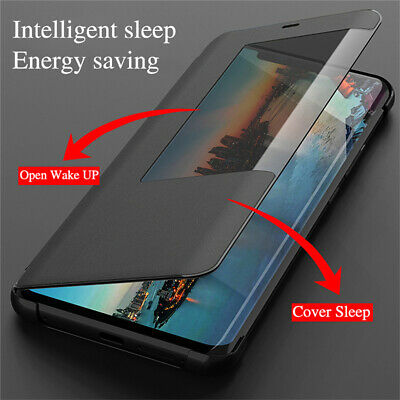 For Huawei Mate 20X 20/10 Pro P20 Lite Smart View Window Flip Leather Case Cover