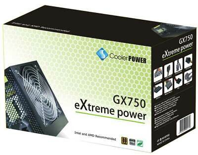 750W ATX Cooler EXTREME Power Supply Silent Fan PSU Desktop Computer PC Gaming