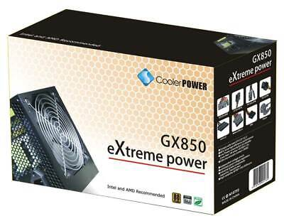 850W ATX Cooler EXTREME Power Supply Silent Fan PSU Desktop Computer PC Gaming