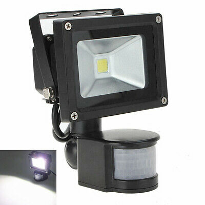 PIR Motion Sensor 10W 220V SMD LED Outdoor Floodlight IP65 Security Flood Light